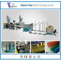 Quality PVC Suction Hose Extrusion Line / PVC Spiral Reinforced Pipe Making Machine for sale