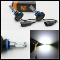 Quality 8000LM 50W H7 H8 H9 H10 H11 9006 9005 LED Headlight Repalcement headlamps DRL fog light for sale
