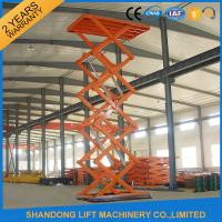 China CE Hydraulic Stationary Scissor Lift Work Table for Warehouse Cargo Lift on sale