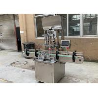 Quality Tomato Paste Automatic Filling Machine , Hot Sauce Bottle Filling Machine for sale
