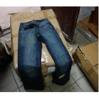 China New jeans with little factory defects flaws branded on sale