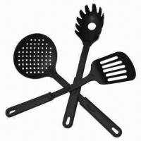 Quality Nylon Cookware/Kitchenware, Made of Nylon and PP Handle for sale