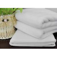 Weft Knitting Home Kitchen Hotel Hand Towels Durable White Cleaning Towels
