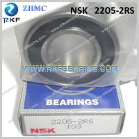 Quality NSK 2205-2RS 25X52X18 Mm Single Row Steel Cage Self-Aligning Ball Bearing for sale