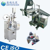 China Measuring Cup Filling Tea Bag Packing Machine Inner / Outer Bag Making on sale