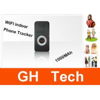 China Indoor Wifi Cell Phone GPS Tracker Portable GPS Locator Device For Kids on sale