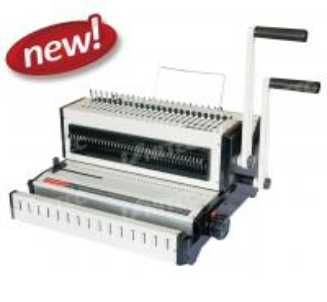 Buy cheap CW2016 CE Electric Binding Machine , Mini Size Office Book Binding Machine from wholesalers