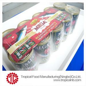 China 50X155g mackerel in tomato sauce on sale