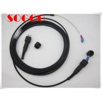 Buy cheap Odlc Fiber Patch Cord Dust Proof , 2 Core Armoured Fiber Optic Cable Gyfjh from wholesalers