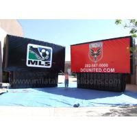 China Black / Red Inflatable Advertising Billboard 8m Waterproof UV Protection wholesale