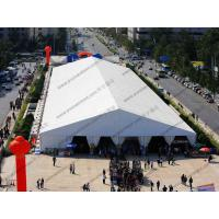 Clear PVC Windows Huge Exhibition Dome Tent High Peak 30 x 100m With AC System