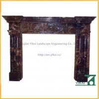 Quality Stone Marble Electric Fireplace for sale