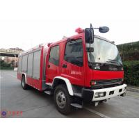 Quality ISUZU Chassis Commercial Fire Trucks Dry Powder For Petrochemical Enterprises for sale