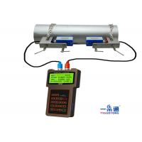 Quality Durable Portable Ultrasonic Flow Meter , Ultrasonic Water Meter ABS Housing Material for sale