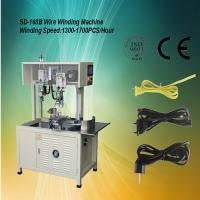 Auto Cable Coiling / Wire Winding Equipment 1500-1800 pcs / hour