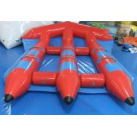 Buy cheap Funny Red Inflatable Toy Boat , PVC Inflatable Water Flyfish for Water Sport Game from wholesalers