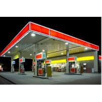 Quality Space Frame Steel Structure Fast Building Gas Petrol Station Construction for sale