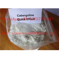 Quality High Purity White Anti Estrogen Steroids Powder Cabergoline for Muscle Gaining CAS 81409-90-7 for sale
