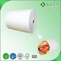 Quality oil proof burger wrapping paper for sale