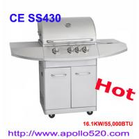 China Stainless Steel Gas Grill for Mother's Day on sale