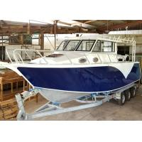 China 30ft V - Hull Aluminum Fishing Boats Saltwater Fishing Boats Outboard Engine on sale