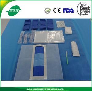 Medical Abdominal Drape Pack dustless/Surgcial Laparotomy Drape Pack