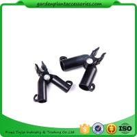 Quality Adjustable Garden Cane Connectors , 16mm Black Bamboo Cane Connectors 50*40*40 Free sample for sale
