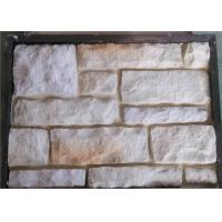 Compressive Strength Artificial Wall Stone With Natural Stone Texture Outdoor Stone Veneer
