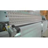 Quality 34 Heads Quilting And Embroidery Machine , Computerized Quilt Making Machine For Textile for sale