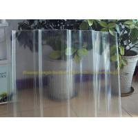 China FRP Gel Coat  Transparent Corrugated Fiberglass Panels 2mm Thickness on sale