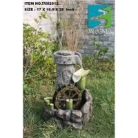 Mill stone Water fountain,bamboo water fountain