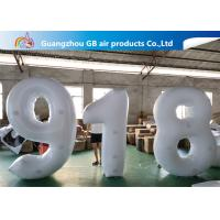 China Outdoor Advertising Inflatable Letters And Number Airtight For Sale on sale