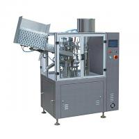 Quality Automatic Tube Filling And Sealing Machine , Plastic Tube Sealer Machine High Speed for sale