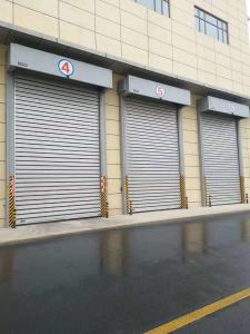 Quality Finger Safe Panel 2.5m/S High Speed Spiral Door for sale