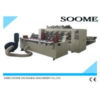 China Automatic Feeding Paper Thin Blade Slitter Scorer For Corrugated Sheet 2500 mm 440 V on sale