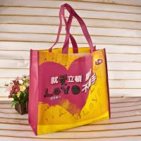 China Decorative Silk Screen Custom Non Woven Tote Bags For Clothing Package on sale