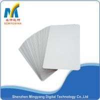 China 0.22 Mm Thick Metallic Print Business Cards, White Personal Training Business Cards Custom on sale