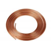 Quality C12000 Type K Round Copper Pipe Brush Mirror Surface Good Wear Resistance for sale