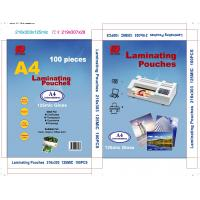 Quality A4 laminating pouch film A4 laminating pouches  plastic pouch laminating film for sale