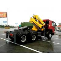 Quality Vehicle mounted 14 Ton Knuckle Boom Truck Crane For Transporting Heavy Things for sale