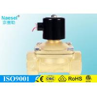 China 2 Gas Solenoid Valve for Gas or Liquefied Gas 0 to 4 Bar 58 PSI NPT G Thread on sale