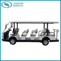 Buy CE Electric Shuttle Bus 14 Seats with Gearbox(LQY145BN) at wholesale prices