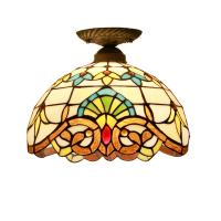 Quality Small Tiffany Style Surface Mounted Kitchen Dining room Ceiling Lamp (WH-TA-06) for sale