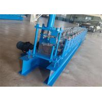 Cold Roll Forming Half Round Gutter Machine / Aluminium Gutter Making Machine