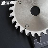 Quality Conical Teeth Flat Top Table Saw Blade For Veneered Panel Reinforced Structure for sale