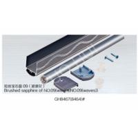China Customized Aluminium Channel Sections For Repairing Curtain Rail Parts GB5237 EN755 on sale