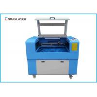Quality Mini Portable CO2 Laser Engraving Cutting Machine For Wood / Acrylic / Rubber Stamp for sale