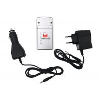 China Black Mini Mobile Phone Signal Jammer With Changeable Battery , 3 Frequency Band on sale