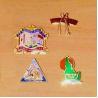Buy cheap Imitation Cloisonne Hard Enamel Pins from wholesalers