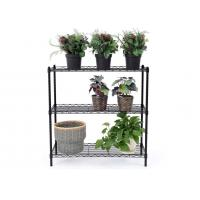 Quality Space Saving Metal Kitchen Shelves Cold - Rolled Steel Material Height Adjustable for sale
